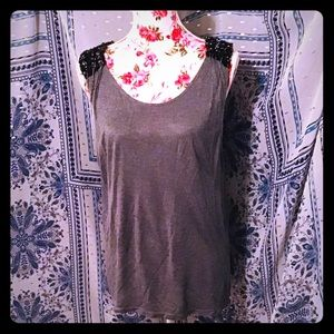 🖤BNWT HAUTE HIPPIE SEQUIN AND CHAIN BLOUSE TOP